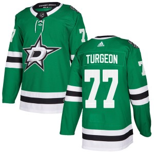 Youth Adidas Dallas Stars Pierre Turgeon Green Home Jersey - Authentic